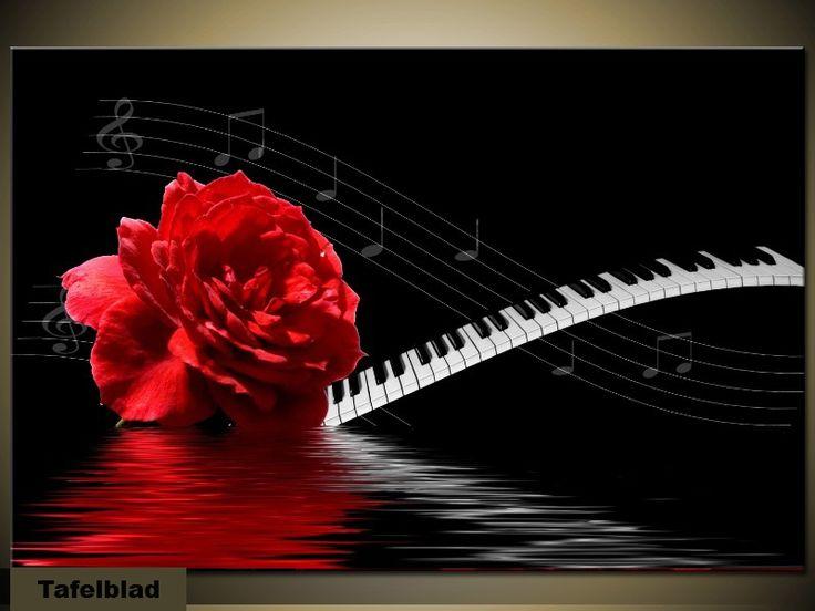 bijzet-meubel-of-salontafel-_-rode-roos-piano-en-blad-muziek_3984_5.jpg (800×600)