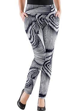 Hose in schwarz-weiß-bedruckt 49,99 € kaufen bei WITT Weiden – 498.379.015