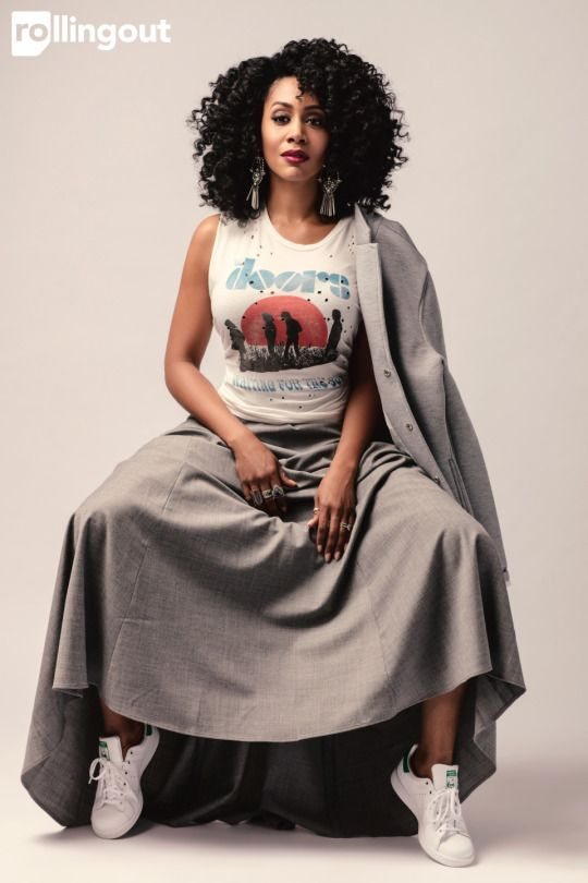 The Power of Black Women Simone Missick for Rolling Out Magazine