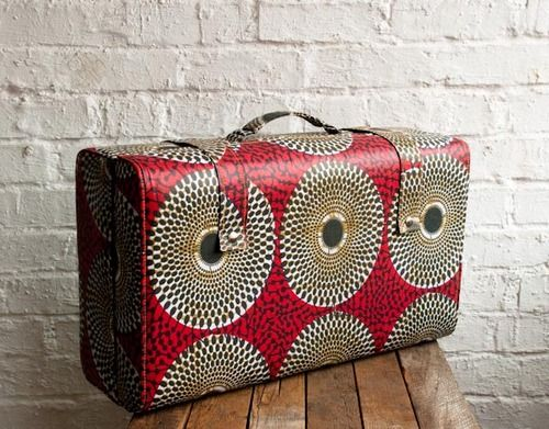 Maria McCloy  --You'd always be able to spot this suitcase at baggage claim!