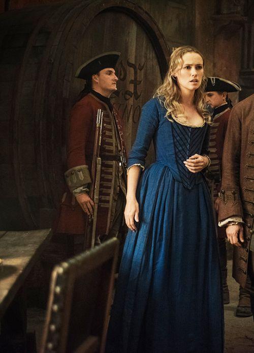Hannah New in 'Black Sails'