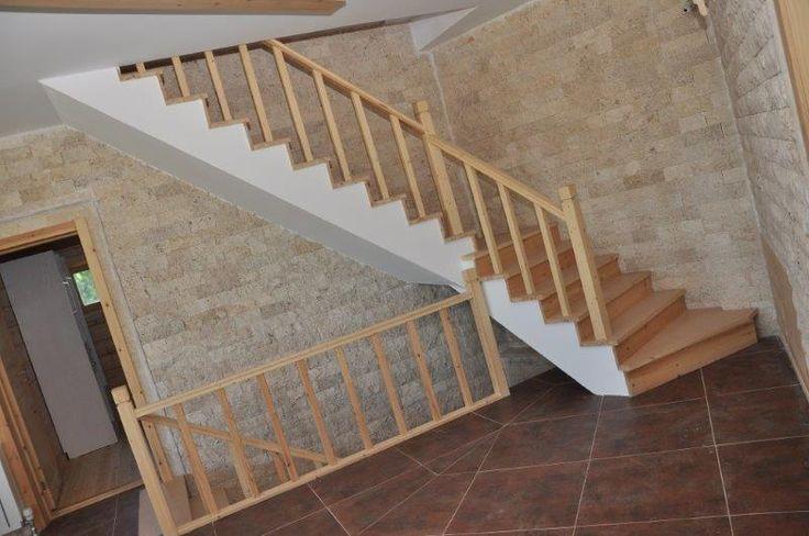 escalera Kuusamo Log Houses hotel en Turquía