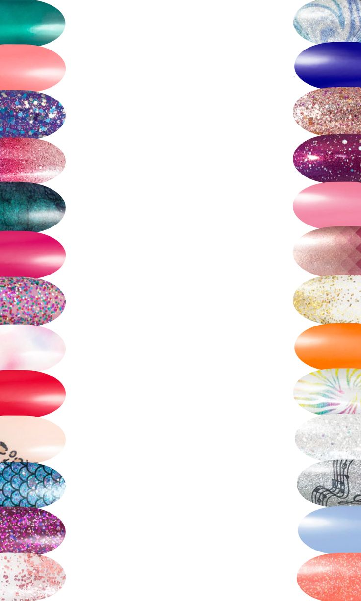 Nail Border Transparent in 2020   Color street nails ...