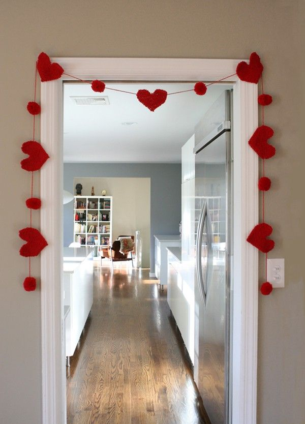 Valentine's Day Garland, Valentine's Day Garland, 2014 Lovers Day Decoration