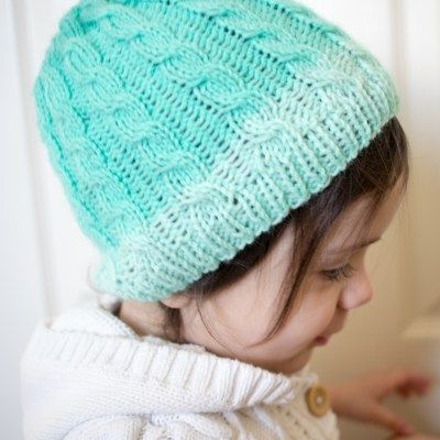 Cabled Hat - Free Knitting Pattern & KAL - Week TWO - Crafty Tutorials