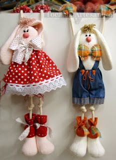 Toca do Artesanato: Bonecas de Pano