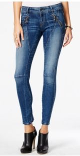 GUESS Women's Straight Jeans in Dark Wash