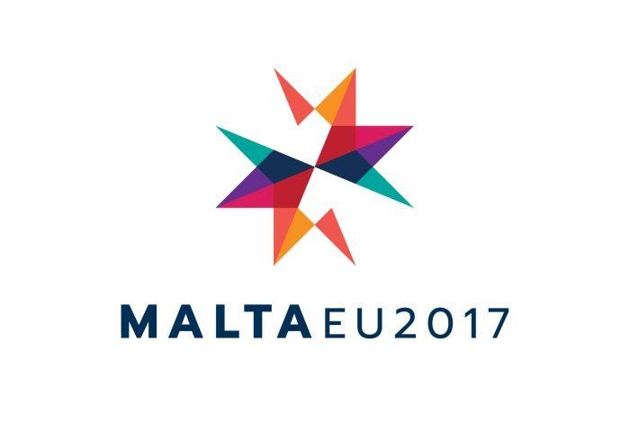 Logo der maltesischen EU-Ratspräsidentschaft 2017 – Design Tagebuch