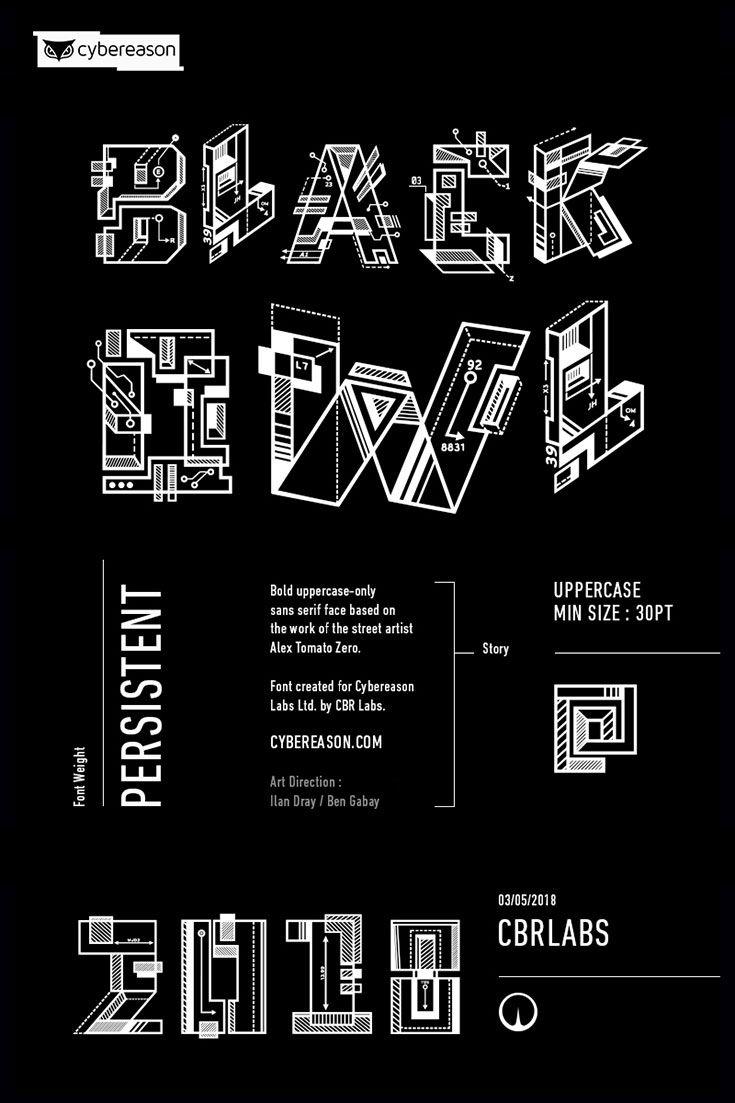 Free Black Owl Persistent Sans Serif Font | * My Group Board