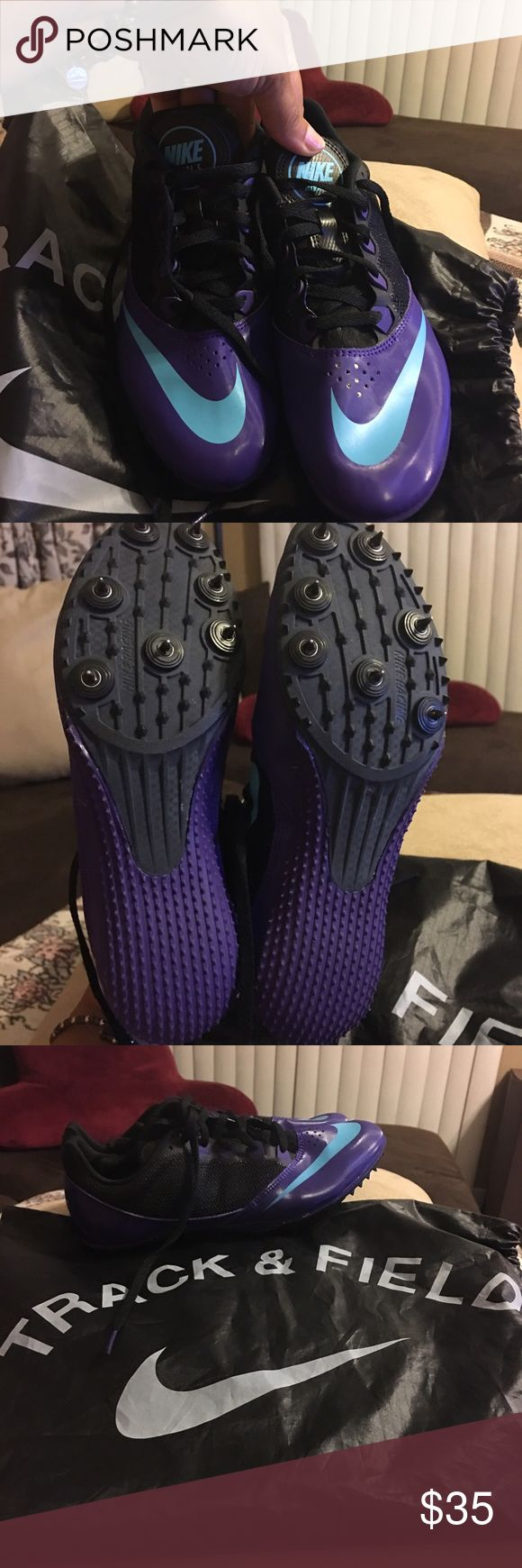Nike Track & Field Shoes size 8.5- Like new Nike Track & Field Shoes size 8.5- Like new! Worn just once! Nike Shoes Athletic Shoes