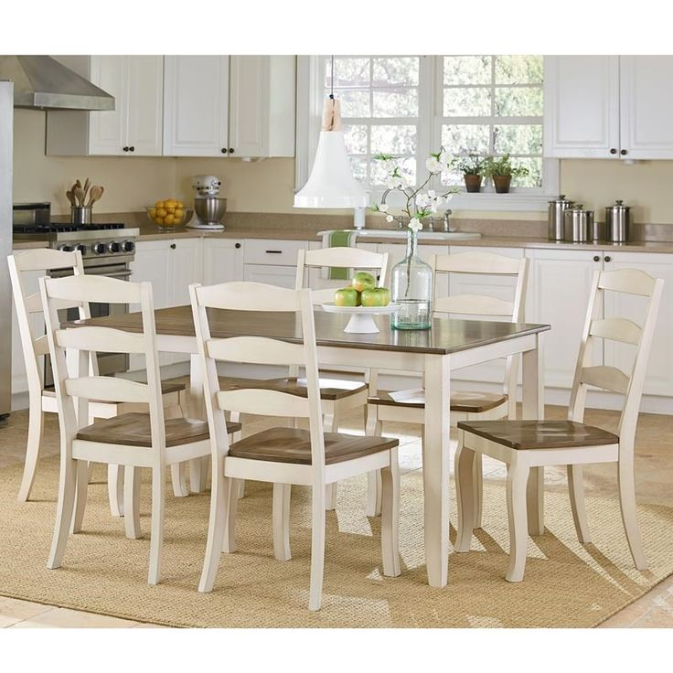 Attractive Highland Table And 6 Chairs | Weekends Only Furniture And Mattress