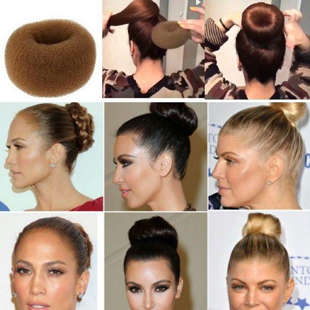 """""""Chegou no shopping Boa Vista  Espuma mágica para coques. Faça você mesmo o seu coque fica chiquerrimo  #coques#façavoce#cabelo#penteados#igualnatv#hair"""""""
