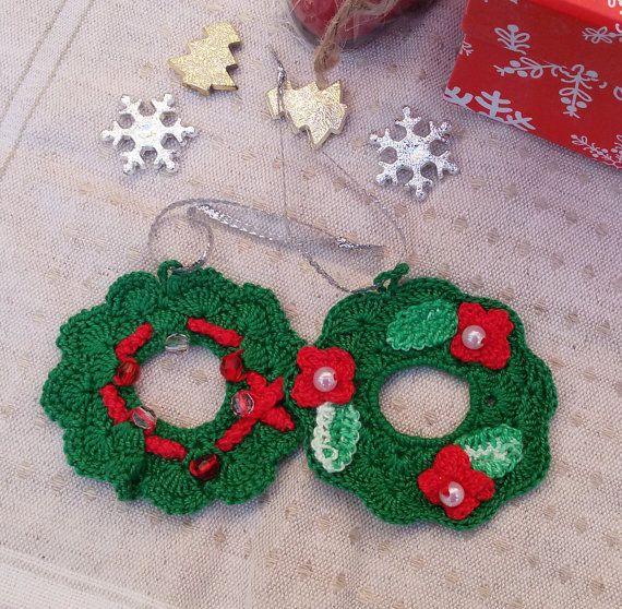 Christmas crochet ornaments Christmas crochet by Rocreanique