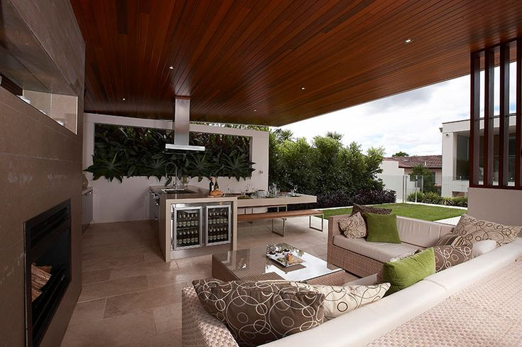modern outdoor living - Google Search