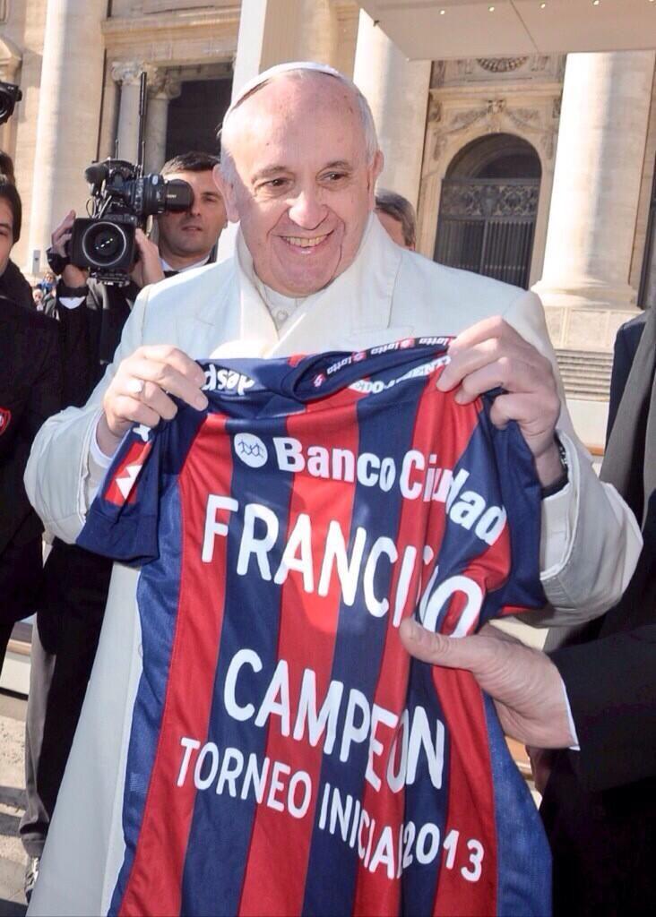 San Lorenzo de Almagro - Club de mis amores!! EL papa francisco cuervo!! Aguante!!