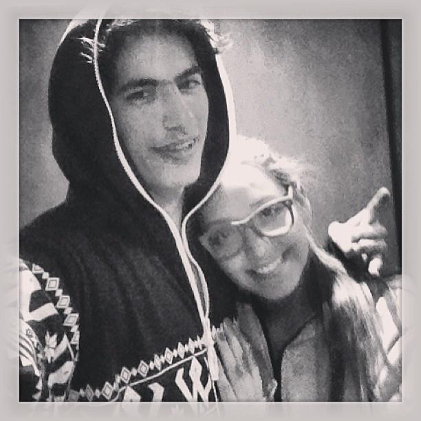 Mauro lo recibió y publica esta foto, feliz con su onewix