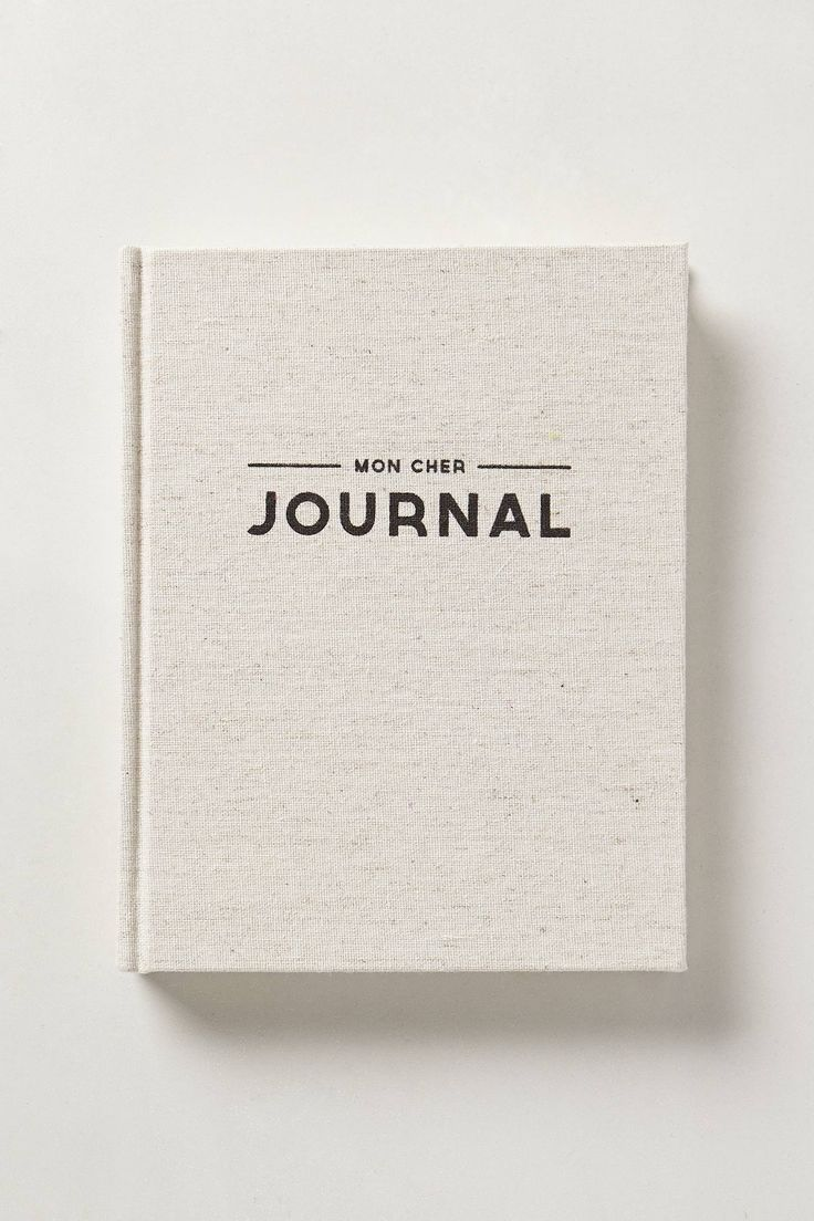 Mon Cher Journal, or any other Cool Journal || Chapters, Violette Boutique, Target, Homesense, Etc..