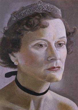 Lucian Freud Portrait of Mrs. Anne Fleming 1950
