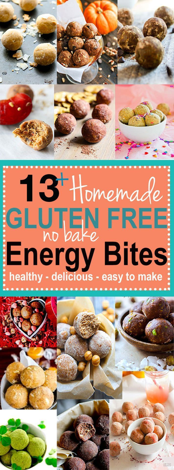 Best Of Healthy Bites 2015  Delish Gluten Free No Bake Energy Bites! All  Gluten