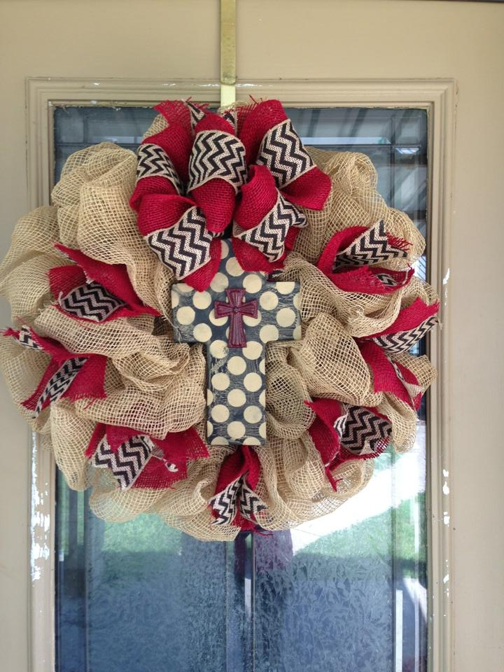 92 best images about wreaths wrapped initial letters on for Alphabet christmas wreath