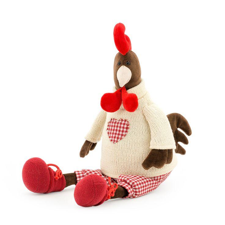 Мягкая игрушка Петушок Патрик   Символ 2017 года
