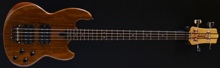 wal basses | Second Hand Guitar Stock :: Bass Direct :: WAL MkI, 4 string bass ...