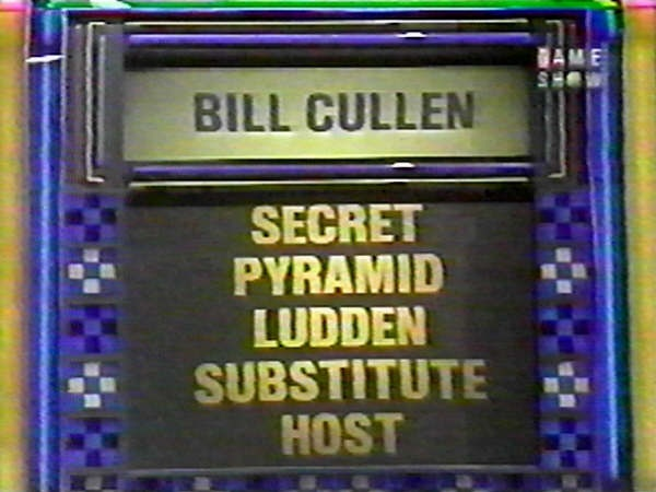 The Joker's Wild CBS | The Game Shows of Bill Cullen