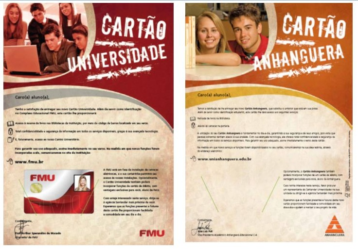 University Card - Smart Card which has academic and financial functions (2008 & 2009)