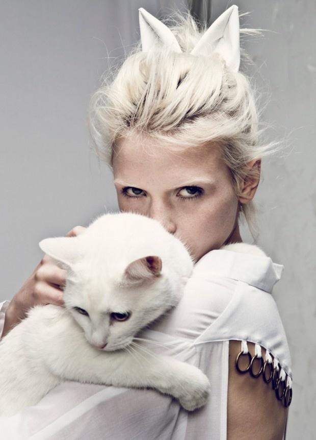 Anja Konstantinova for Stylestalker by Darren Mcdonald