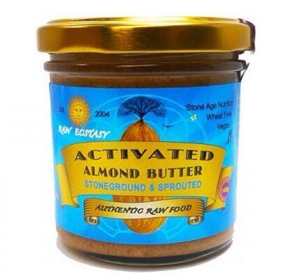 Raw Almond Butter | raw ecstasy.