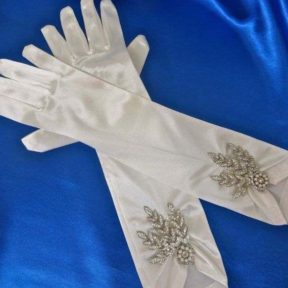 Great Gatsby Accessories Great Gatsby Gloves Art Deco by ctroum