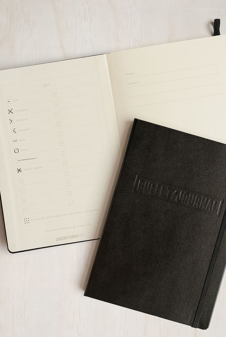 The Leuchtturm1917 Bullet Journal is an analogue system for the digital age that will help you organise the present, record the past, and plan for the future. #BUJO