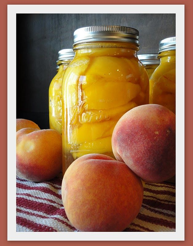 Keeping up with the Kitchen Mom: Canning Peaches
