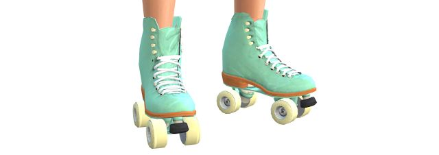 Sims 4 CC's - The Best: TS3 Moxy Roller Skates Conversion by DaisyXSims