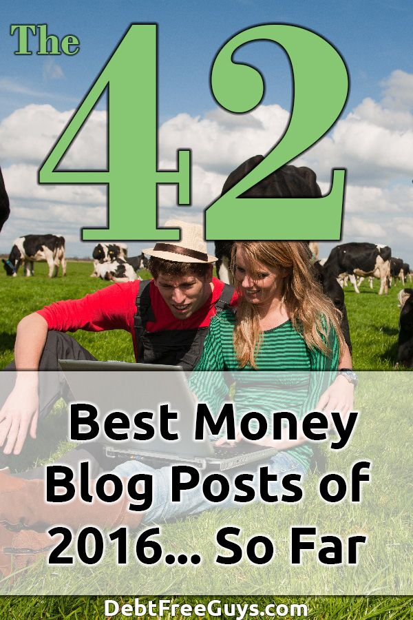 How is your 2016 so far? Need a little financial help? Here are the 42 Top Personal Finance Blog Posts of 2016 to help you end the year on a high note. #BeMoneyConscious #HaveFun #LiveDebtFree