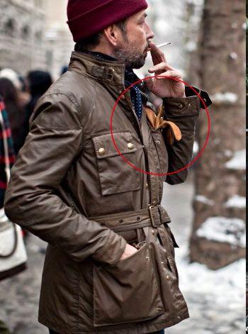 レザージャケット×インナーダウンの着こなし(メンズ) | Italy Web