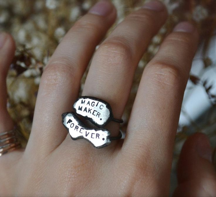 Proclaim your calling in upcycled silver.
