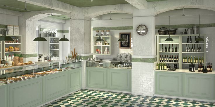 Realizzare un bar in stile shabby chic 3d visualization