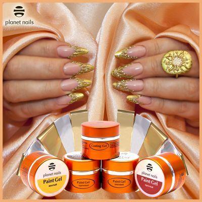 Золотой Nail Art – украшение рук королевы!