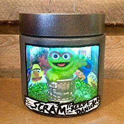 Oscar the Grouch night light, Sesame Street night light, Personalized Oscar the Grouch night light