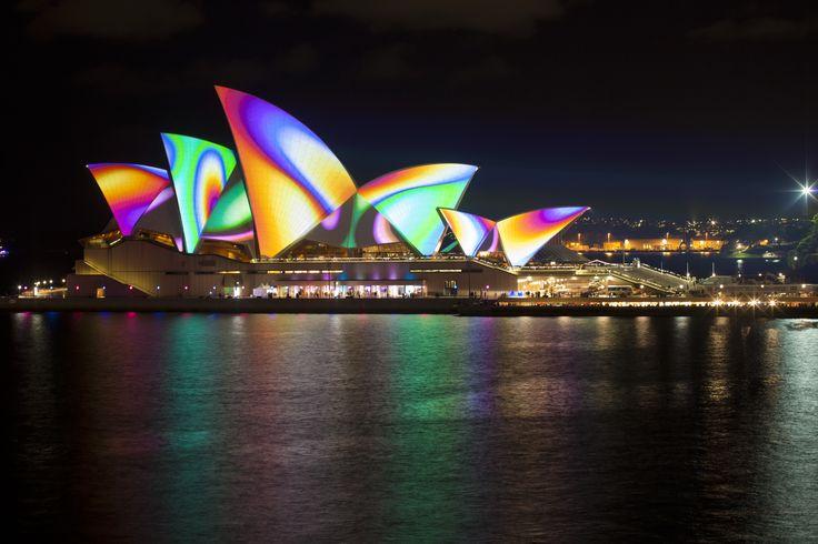Super cool Opera House, Sydney, NSW, Australia