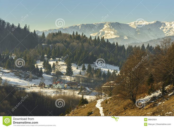 Winter Alpine Scenery - Download From Over 56 Million High Quality Stock Photos, Images, Vectors. Sign up for FREE today. Image: 88842924