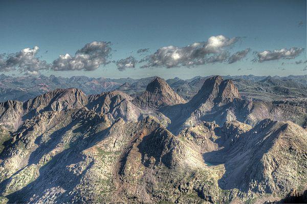 The Granadier Mountains of the San Juan Range, Colorado