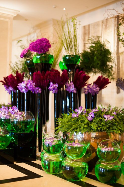 Flower setup by Vincenzo Dascanio in Four Seasons Moscow www.kukushkina.ru www.vincenzodascanio.it Kukushkina Alexandra Photography