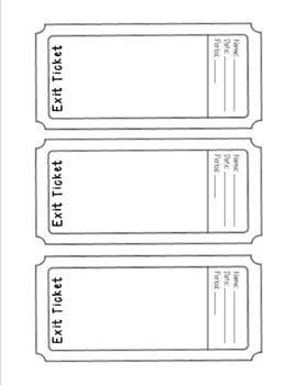 10 Smart S For Digital Exit Slips