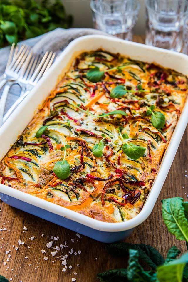 zucchini paprika recept