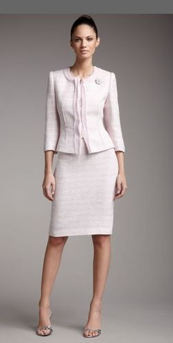 Ed Boucle Suit From Tahari At Neiman Marcus Last Call Where You Ll Save As Much On Designer Fashions