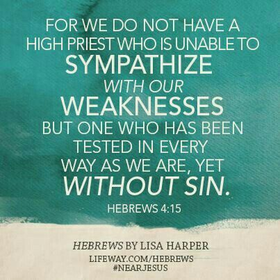 Hebrews 4:15 | F A I T H | Pinterest