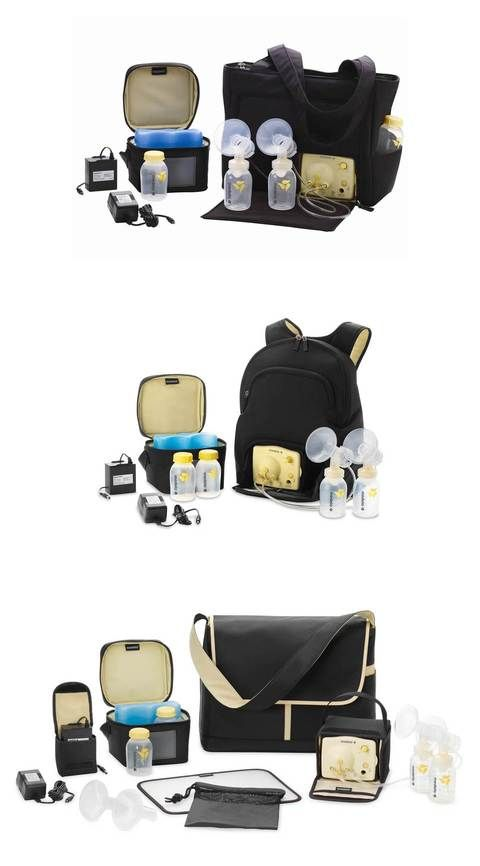 Three bag designs let mom choose the right bag for her lifestyle. Medela Pump in Style Advanced Breast Pump