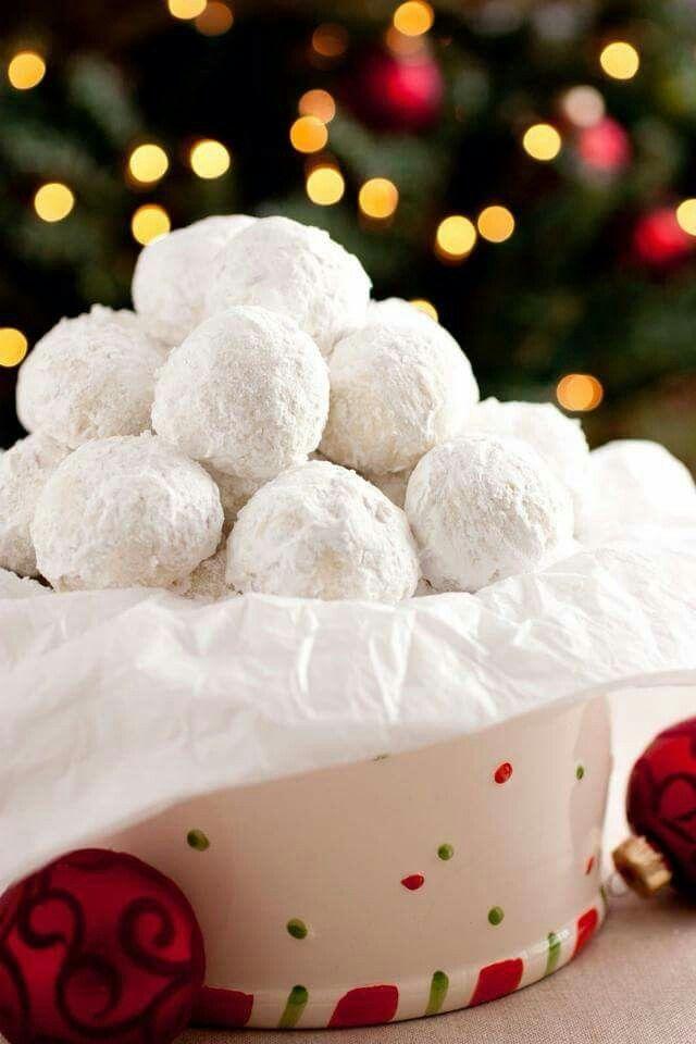 Snowball Cookies, aka Mexican Wedding Cookies, aka Russian Tea Cookies ...